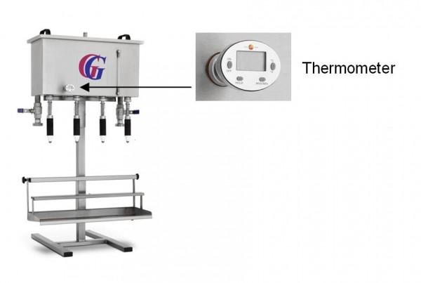 Gebhardt - Thermometer für Pufferdank bei der Heißabfüllung